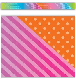 Colorful Vibes Straight Border
