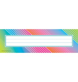 Colorful Vibes Nameplates