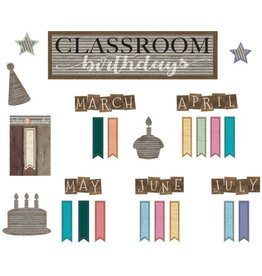 Home Sweet Classroom Birthday Mini Bulletin Board