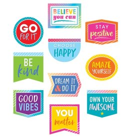 Colorful Vibes Positive Sayings