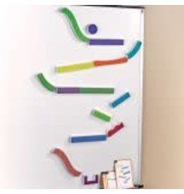 TUMBLE TRAX(TM) MAGNETIC MARBLE RUN