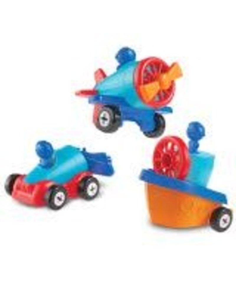 1-2-3 BUILD IT! CAR, BOAT, PLANE
