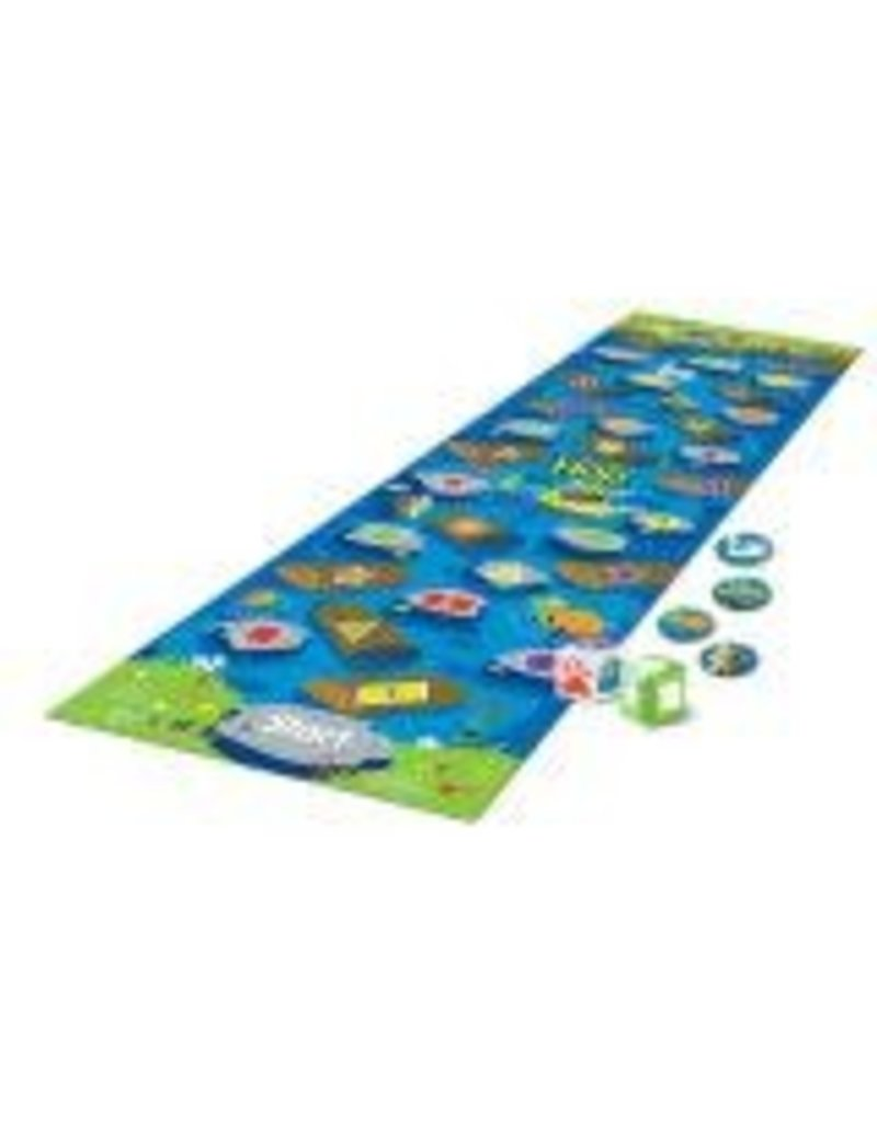 CROCODILE HOP - A FLOOR MAT GAME