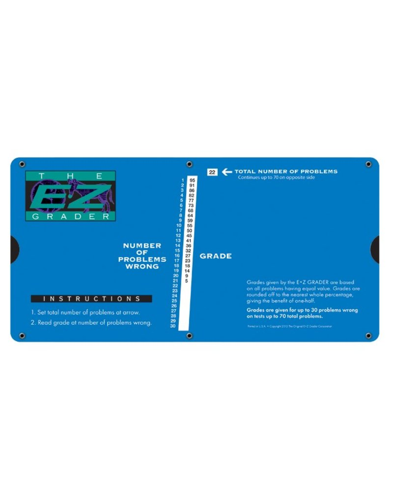 E-Z Grader Large (Royal Blue)