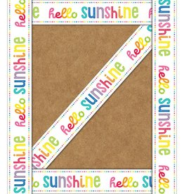 Hello Sunshine Straight Borders - Hello Sunshine