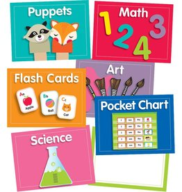 Just Teach Center Cards Mini Bulletin Board