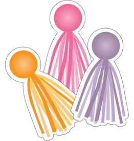 Hello Sunshine Colorful Cut-Outs Assorted Designs Tassels