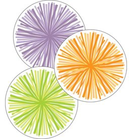 Hello Sunshine Colorful Cut-Outs Assorted Designs Poms