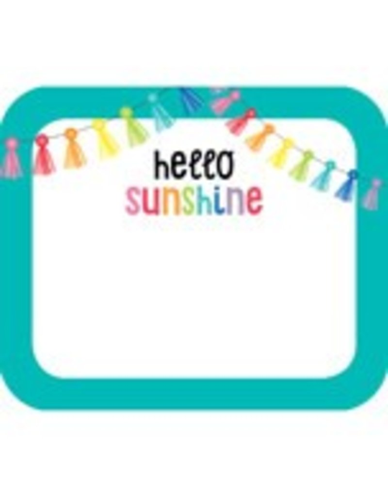 Hello Sunshine Name Tags