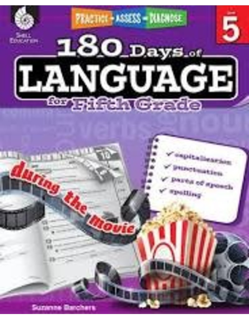 180 Days of Language Gr 5