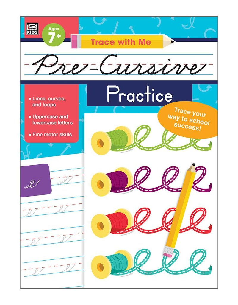 Trace With Me Precursive Practice