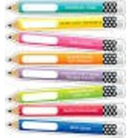 Just Teach Motivational Pencils Colorful Cut-Outs Assorted Designs