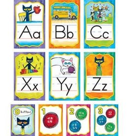 Pete the Cat Alphabet Bulletin Board Set