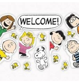 Peanuts Gang Welcome Go-Arounds Bulletin Board Set