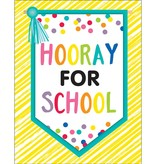 Just Teach Hooray for School Chart