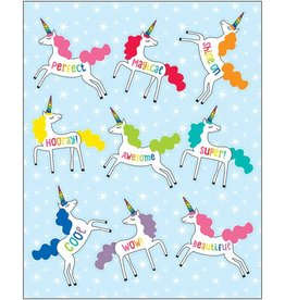 Hello Sunshine Unicorns Shape Stickers