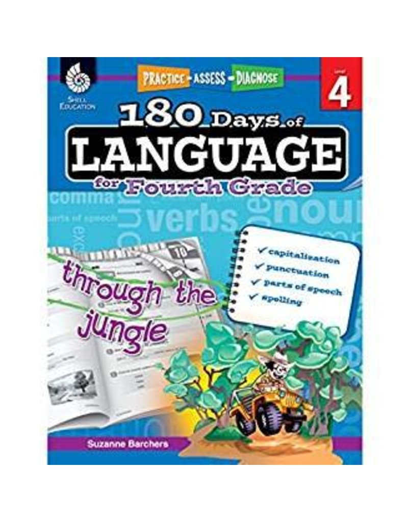 180 Days of Language Gr 4