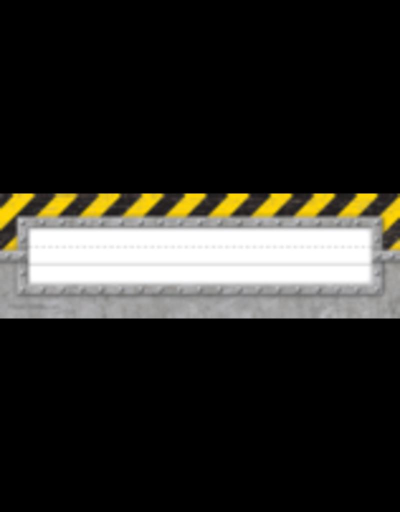 Under Construction Flat Nameplates