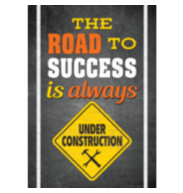 The Road To Success is Always Under Construction Poster