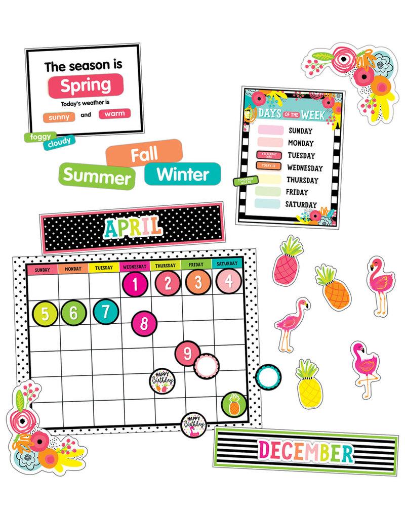 Pineapple Calendar Bulletin Board