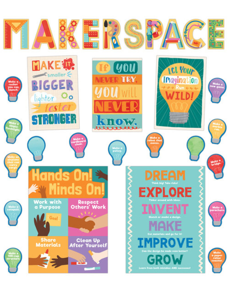 Makerspace Bulletin Board Science