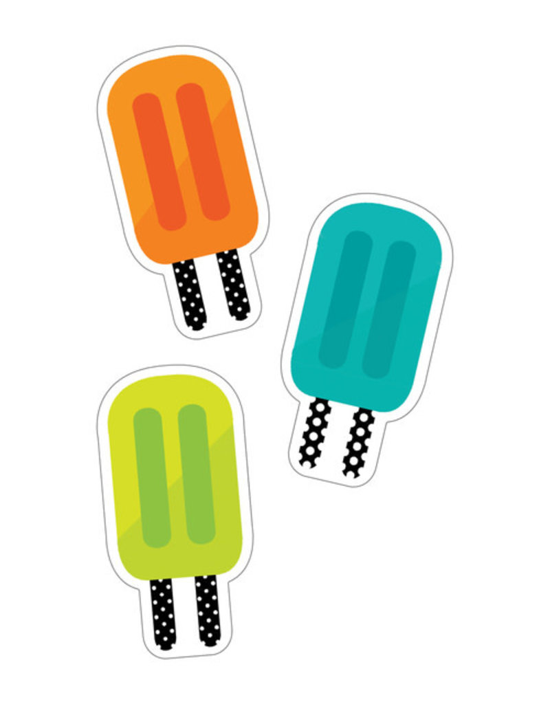 Tropical Pops Colorful Cut-Outs - Assorted