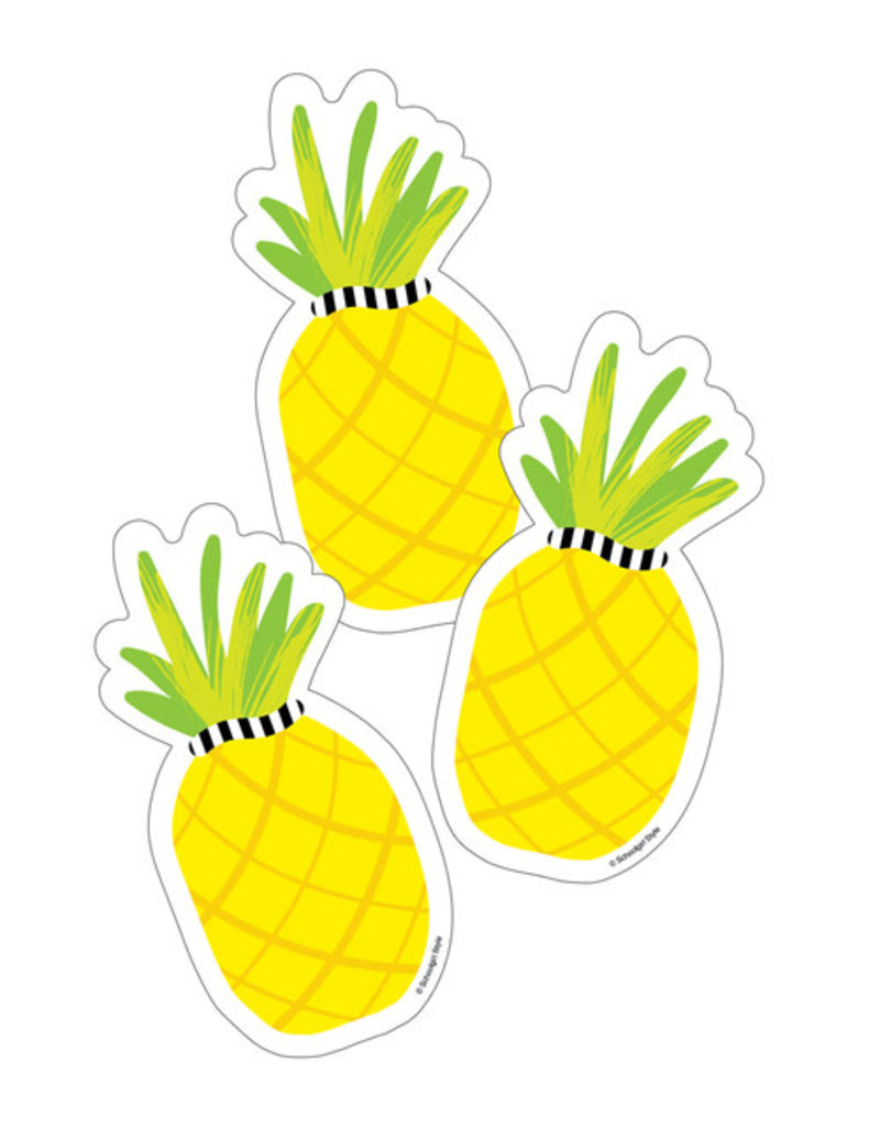 Pineapple Colorful Cut-Outs - Single