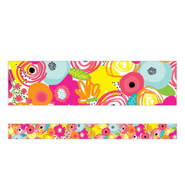 Floral Straight Border