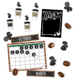 Industrial Cafe Calendar Bulletin Board