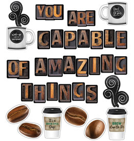 *Industrial Cafe You are Capable of Amazing Things Bulletin Board