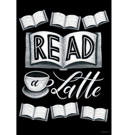 Read a Latte Poster