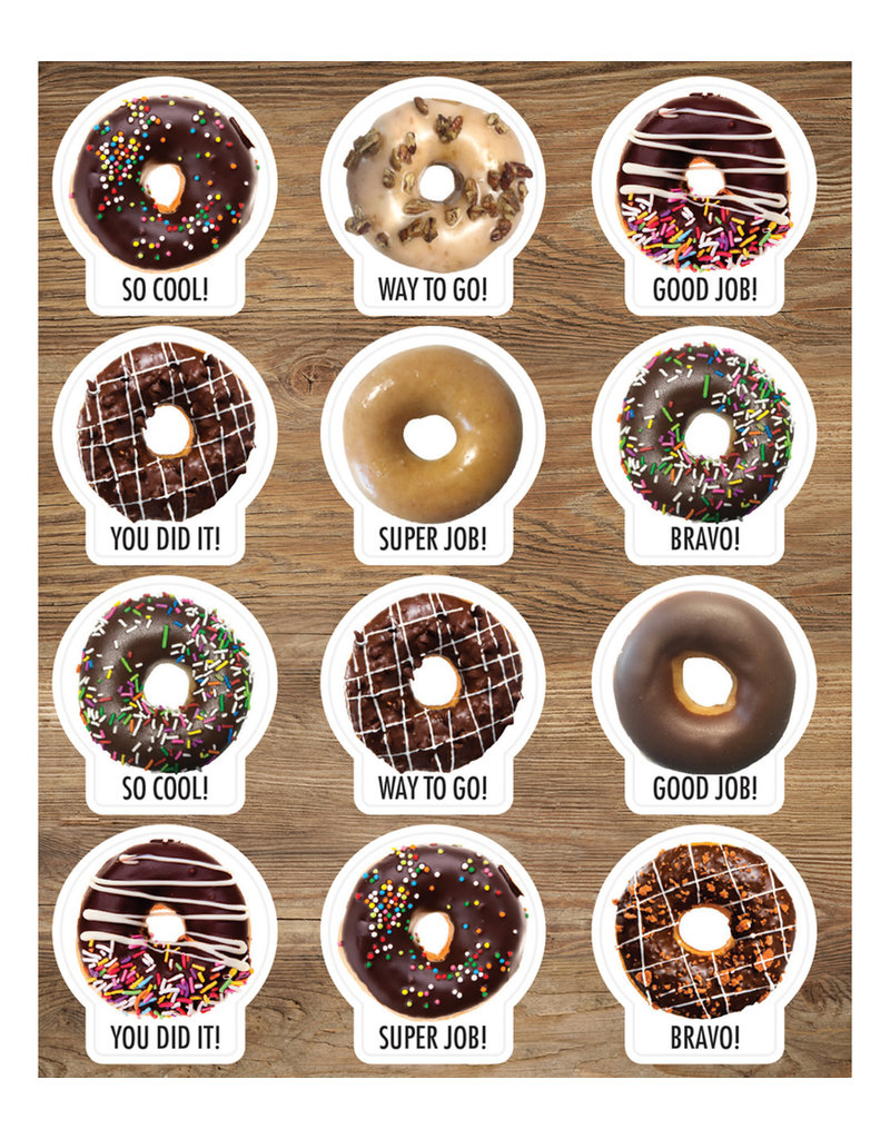 Donuts Shape Stickers