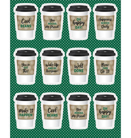 *To Go Cups Shape Stickers