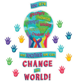 Together We Can Change the World Bulletin Board