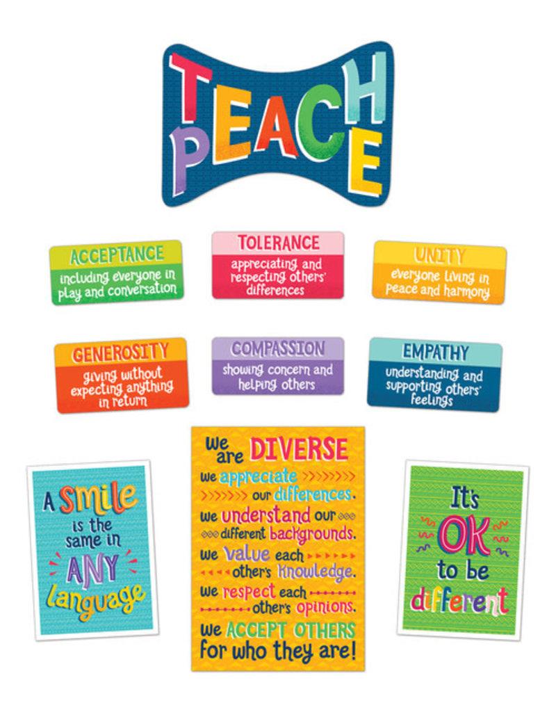 Teach Peace Bulletin Board