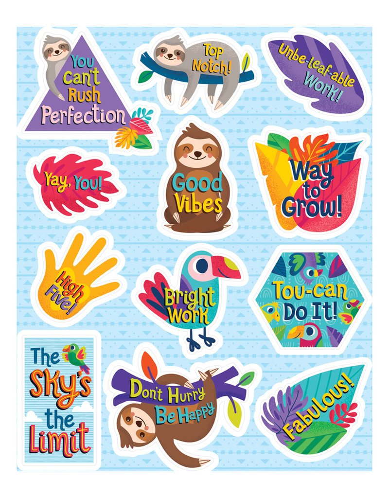 One World Motivators Shape Stickers