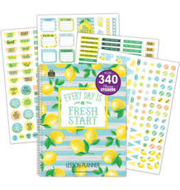 Lemon Zest Lesson Planner