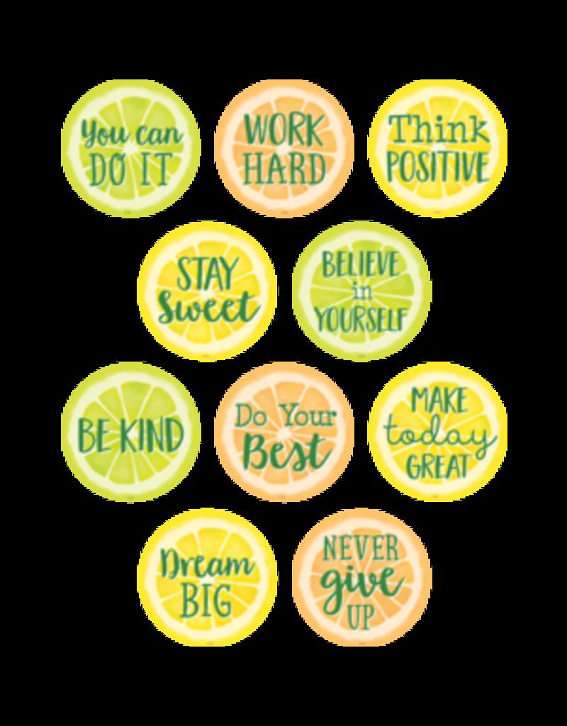 Lemon Zests Positive Sayings Accents