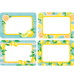 Lemon Zest Name Tags/Labels - MultiPack