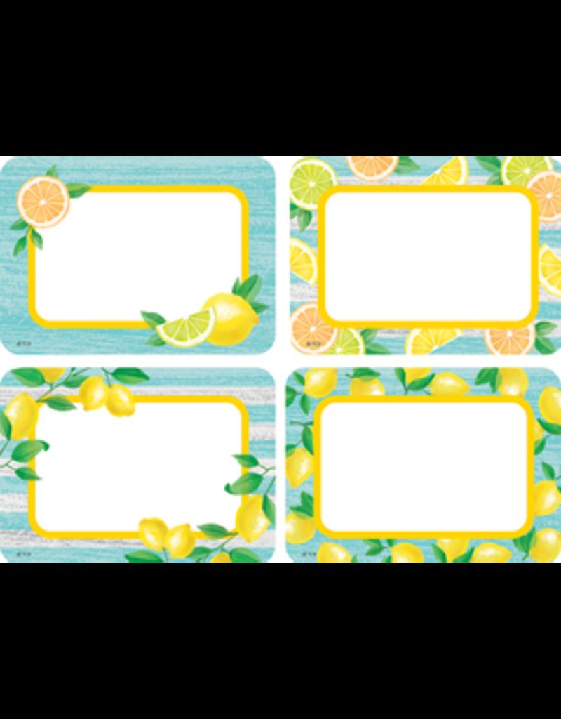 Lemon Zest Name Tags/Labels - MultiPack