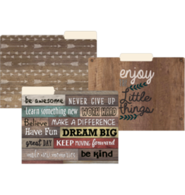 Farmhouse Chic File Folders