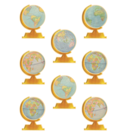 Travel the Map Globe Accents