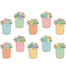 Rustic Bloom Mason Jar Accents