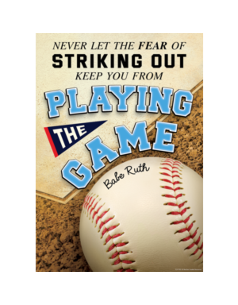 Never Let the Fear of Striking Out Positive Poster