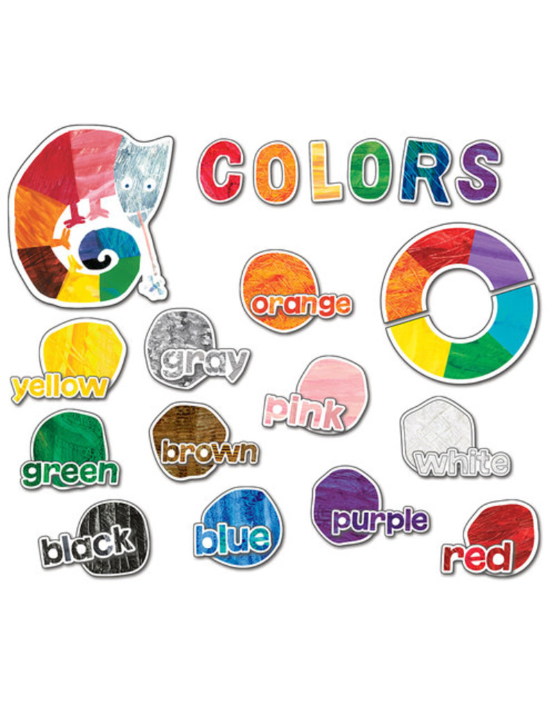 World of Eric Carle Colors Mini Bulletin Board