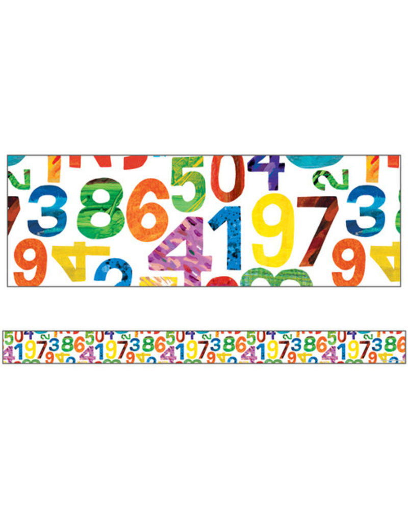 World of Eric Carle Numbers Border