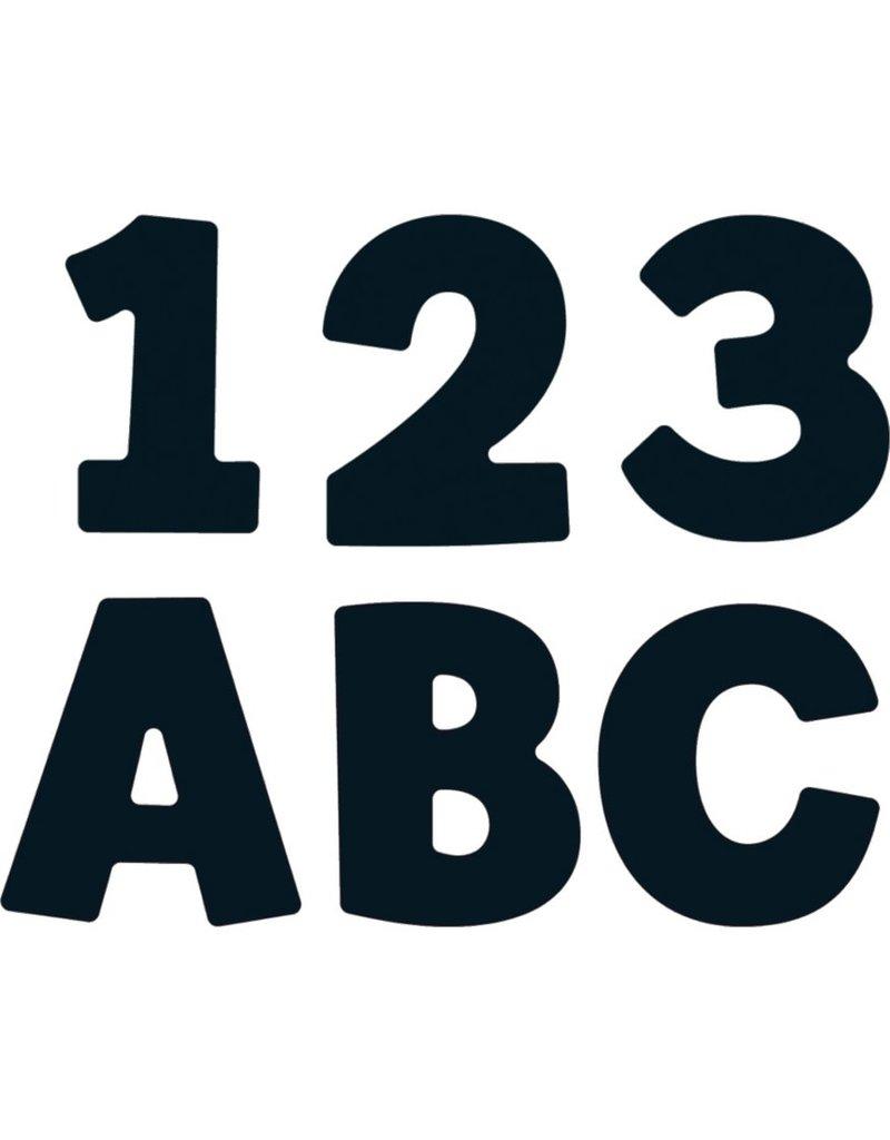 """Black 4"""" EZ Letters"""