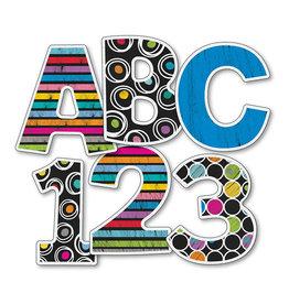 "Colorful Chalkboard 4"" EZ Letters"