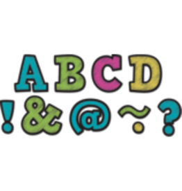 "Chalkboard Brights Bold Block 2"" Magnetic Letters"