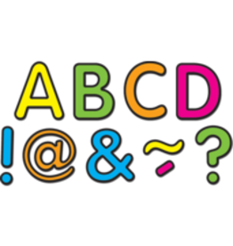 "Neon Brights Classic 2"" Magnetic Letters"